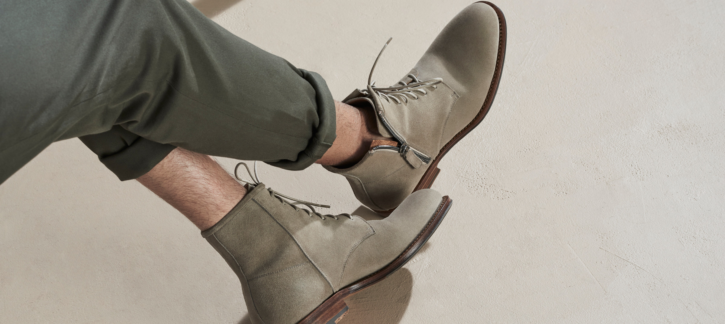 Aquatalia men's shoes shot and produced by DTE for campaign.