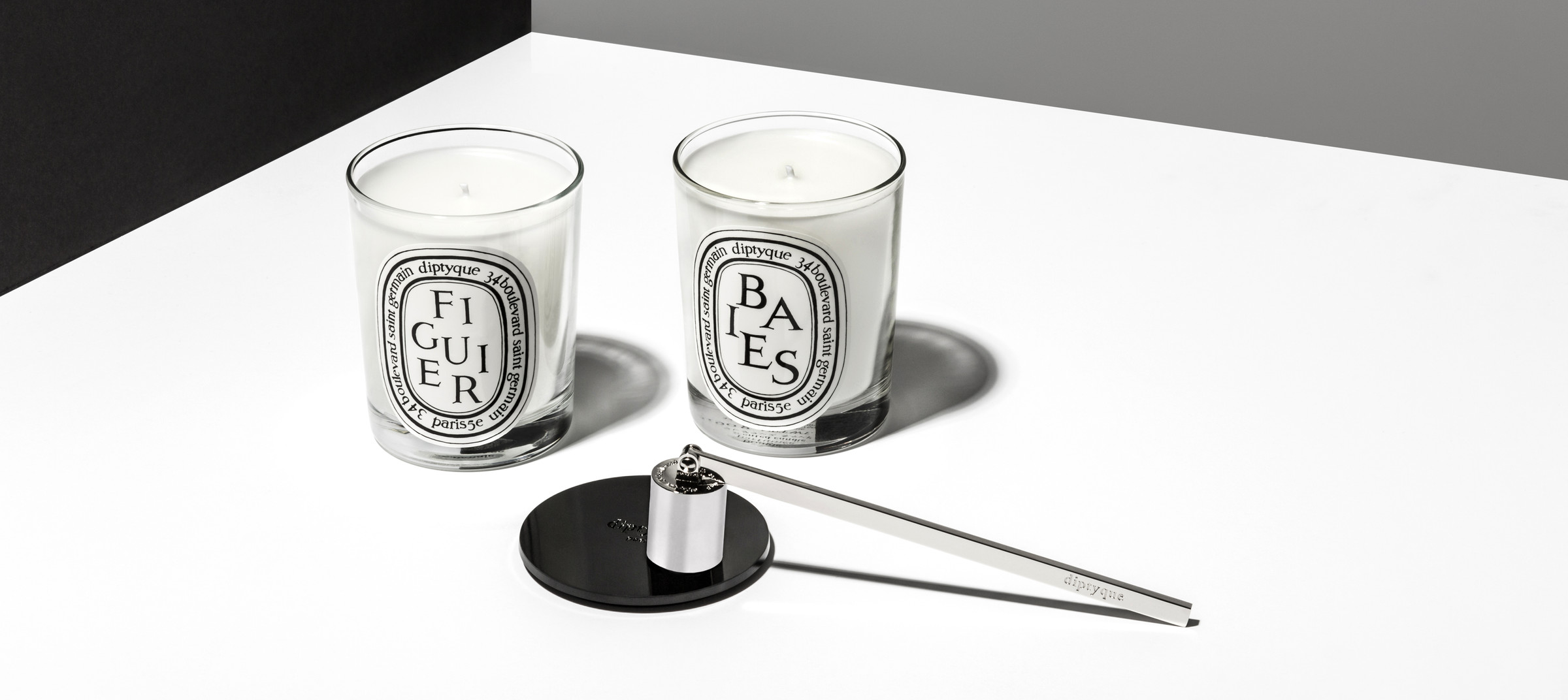 Product shot in DTE's in-house photo studio for Diptyque