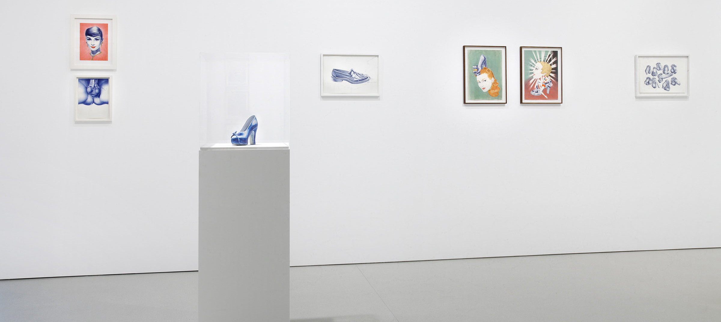 Fine artist Cary Kwok's exhibition, Obsession, installation view