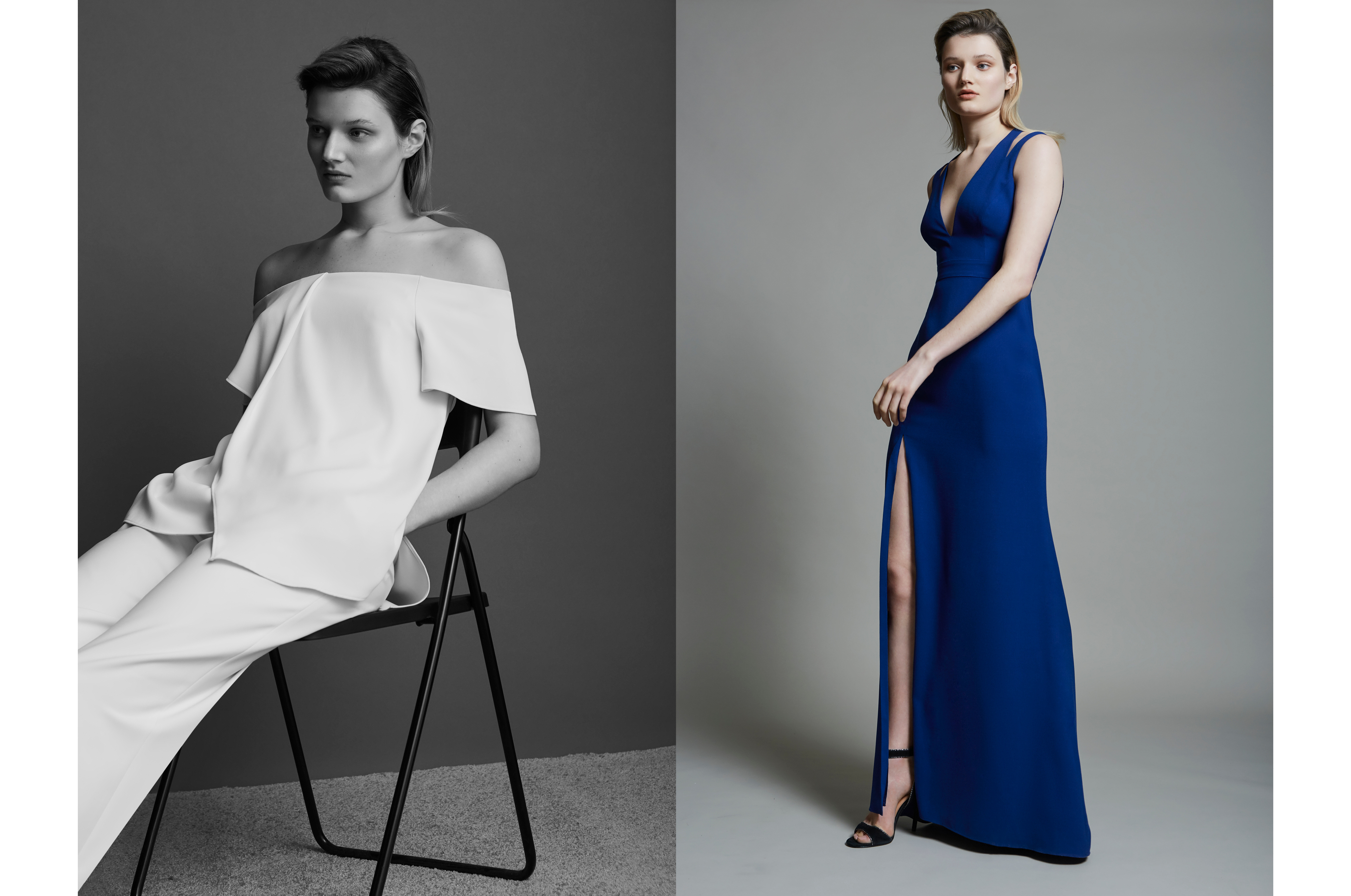 DTE photographed Halston Heritage 2017 campaign shot by DTE Studio