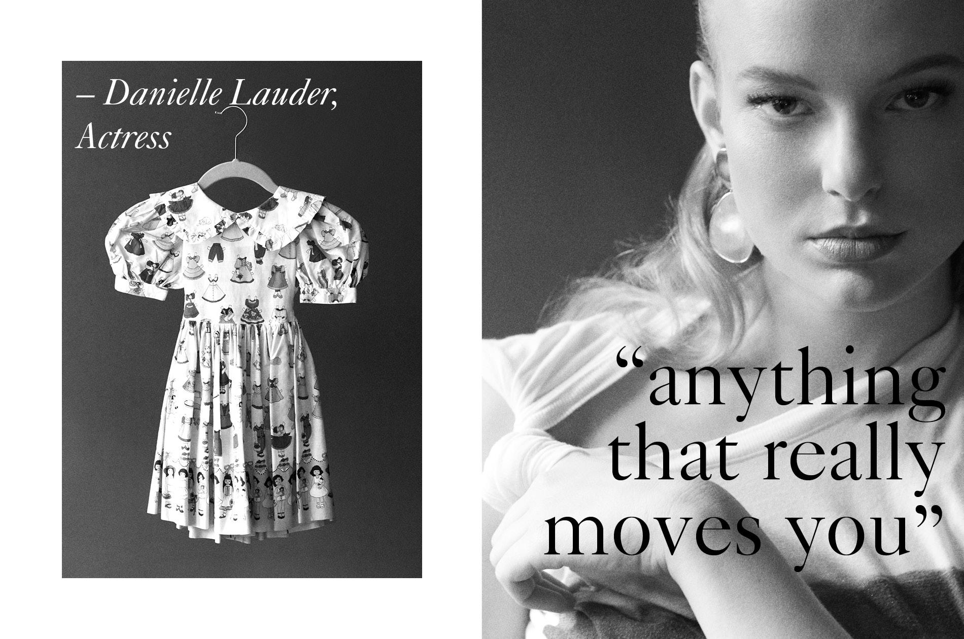 Actress Danielle Lauder featured on Masthead Magazine's Issue 1 On: Beauty.