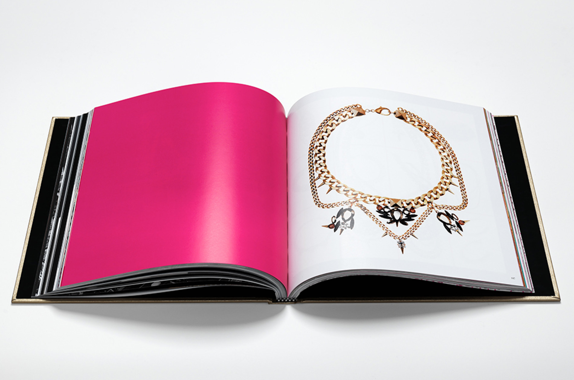 DTE created custom designed brand book for luxury jewelry brand Fenton Fallon