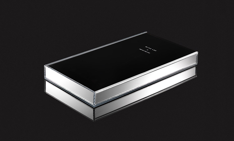 Limited edition glass box design of Bliss Lau's box set.
