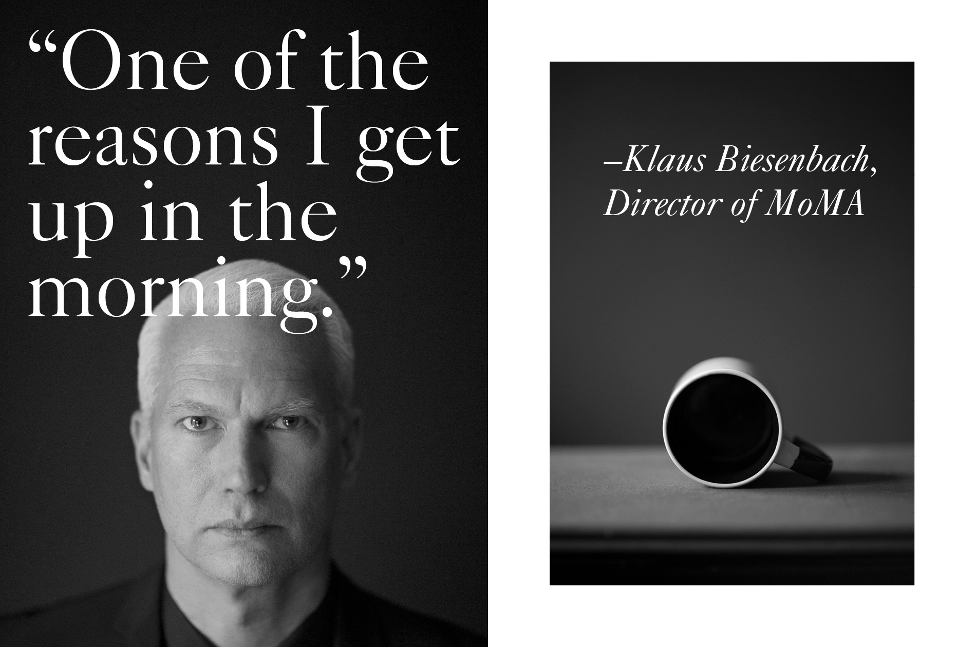 Klaus Biesenbach, the director of MoMA comments on the topic of beauty for Masthead Magazine by DTE.
