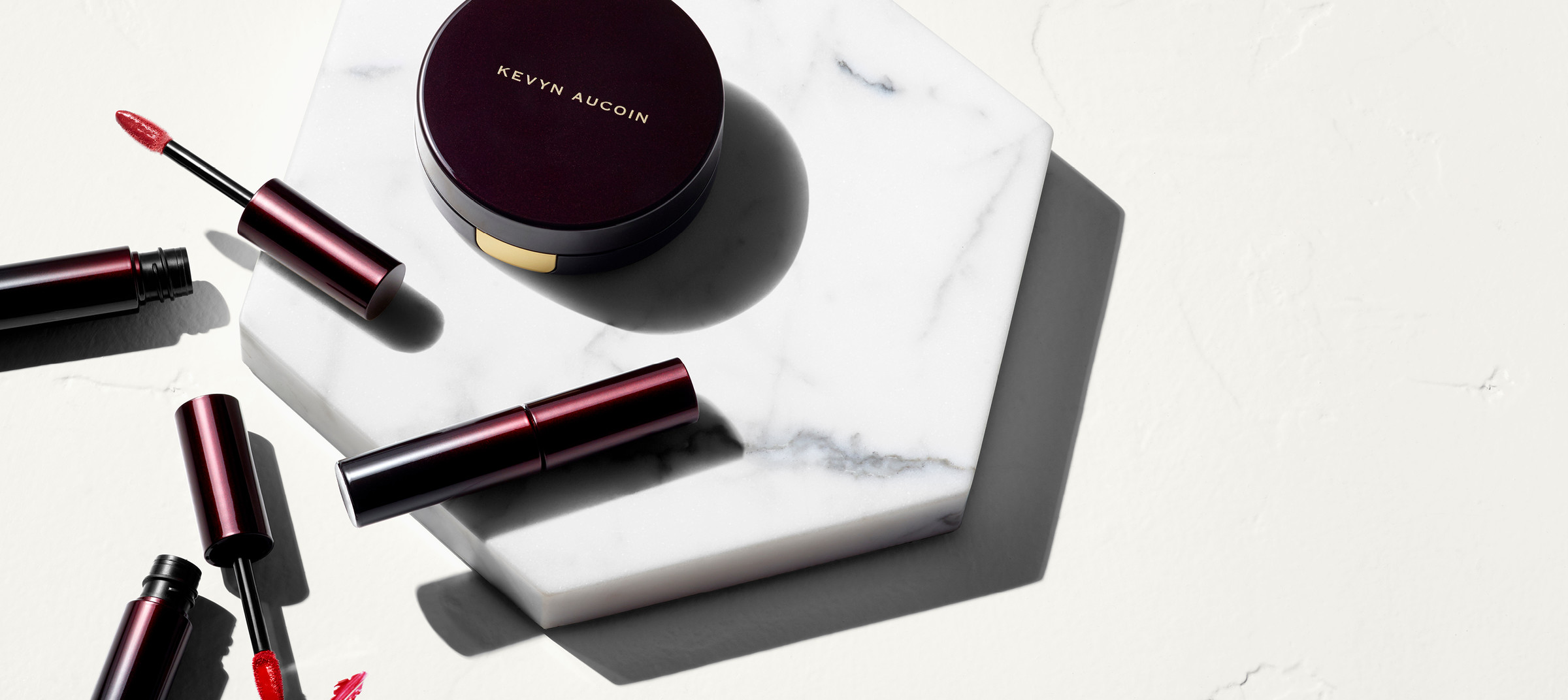 Kevyn Aucoin's beauty campaign's digital content shot and directed by DTE