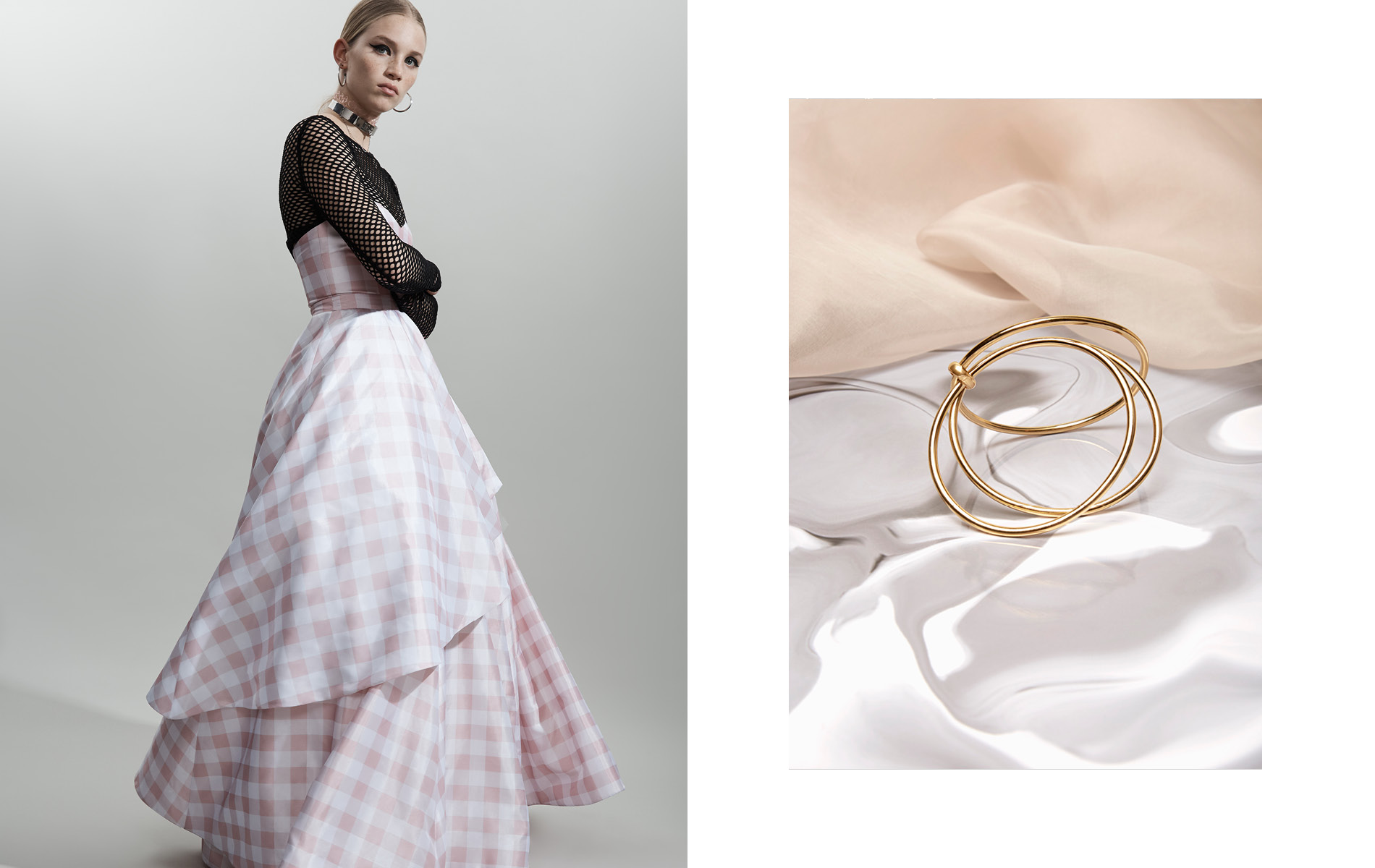Creative content and imagery for clients in fashion and jewelry brand, Trademark Jewelry, by DTE