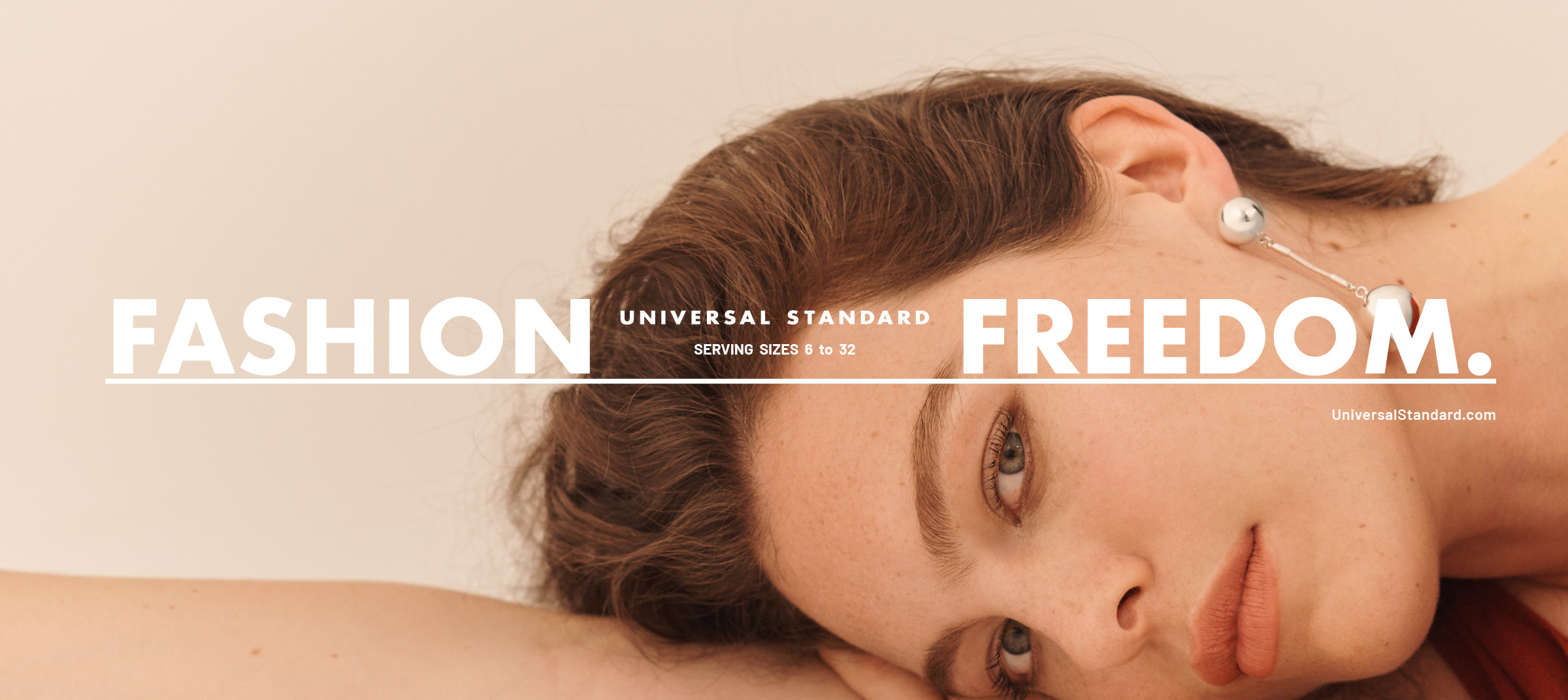 Universal Standard's Fit Liberty program in campaign by DTE Studio.