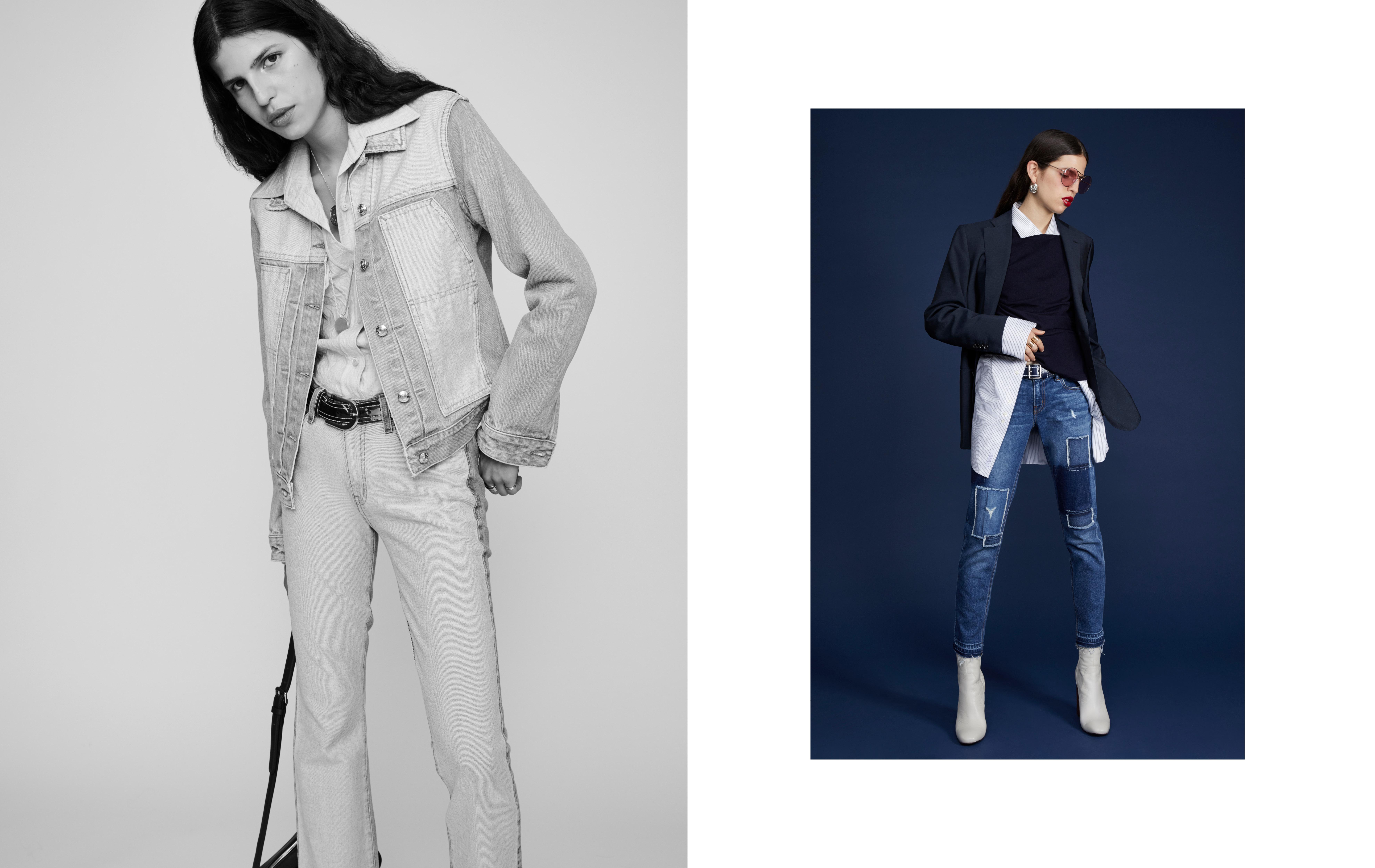 Fashion campaign for Derek Lam denim collection.