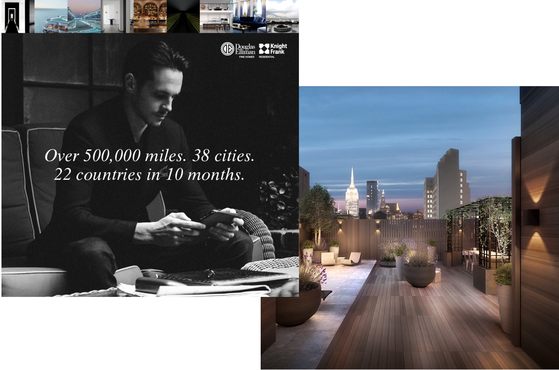 Richard L. Jordan's travels featured in a new luxury & travel infused editorial destination by DTE