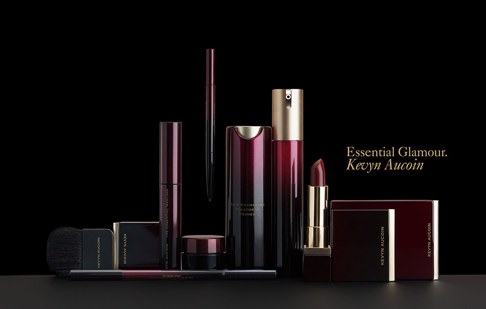 Kevyn Aucoin's essential glamour kit still life photograph by DTE