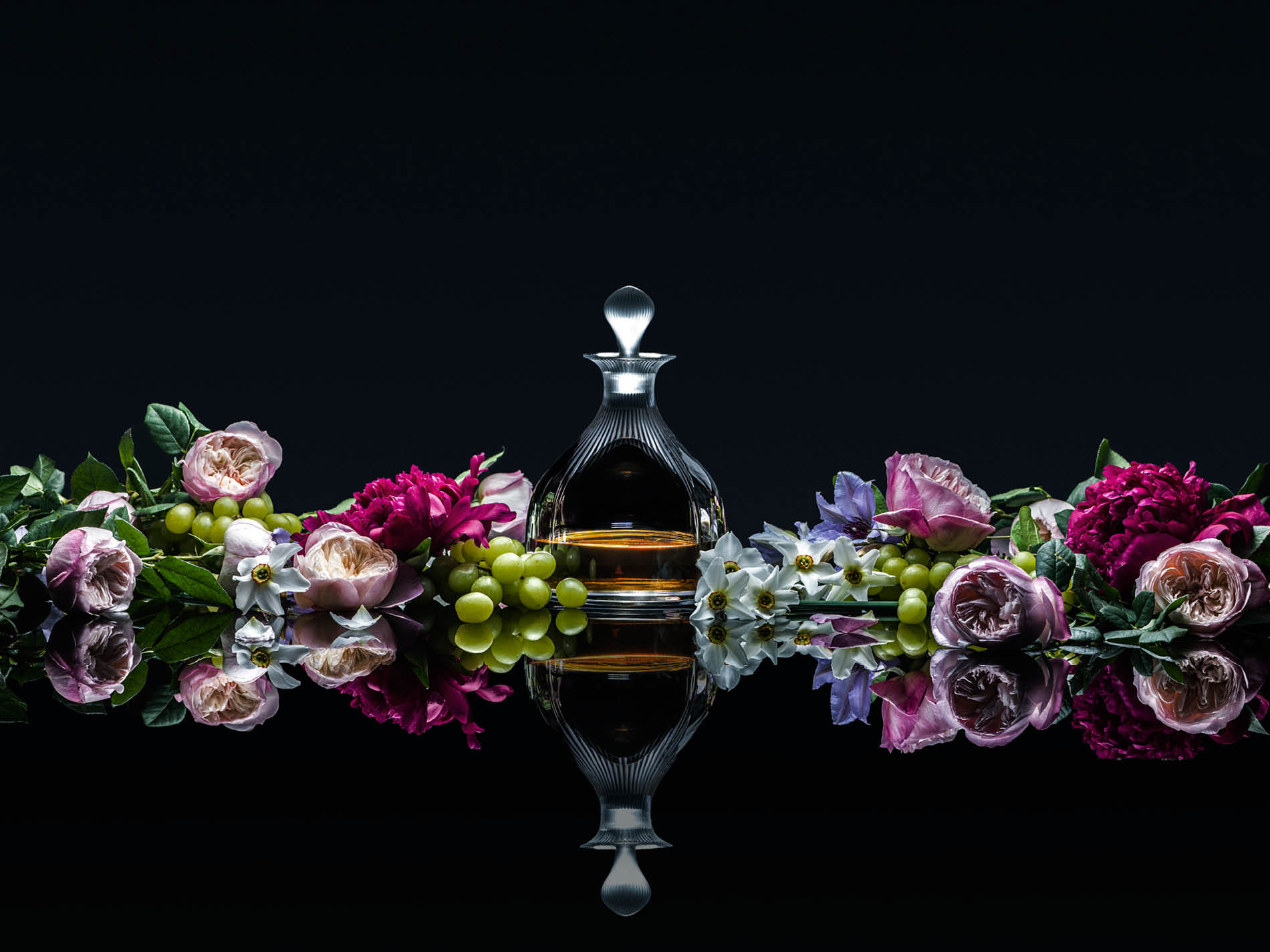 Lalique's crystal decanter still life photograph by DTE