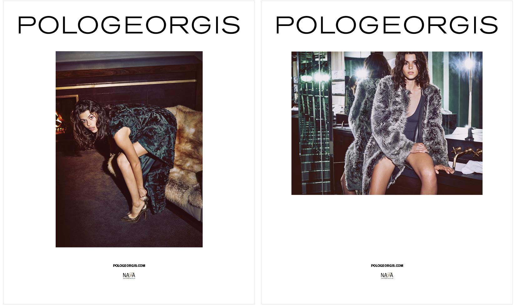 DTE Studio's creative direction for Pologeorgis advertising campaign.