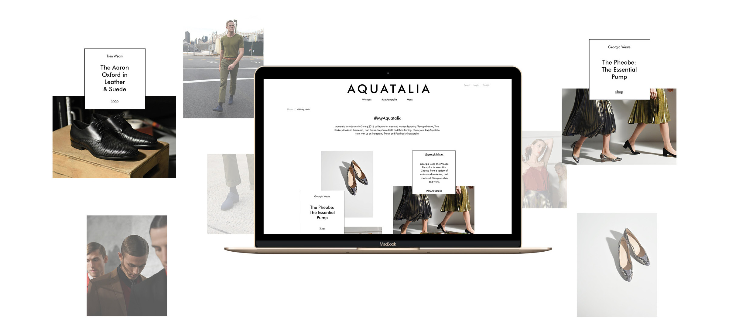 #MyAquatalia social campaign created by DTE with behind-the-scenes look into the brand's trendsetter