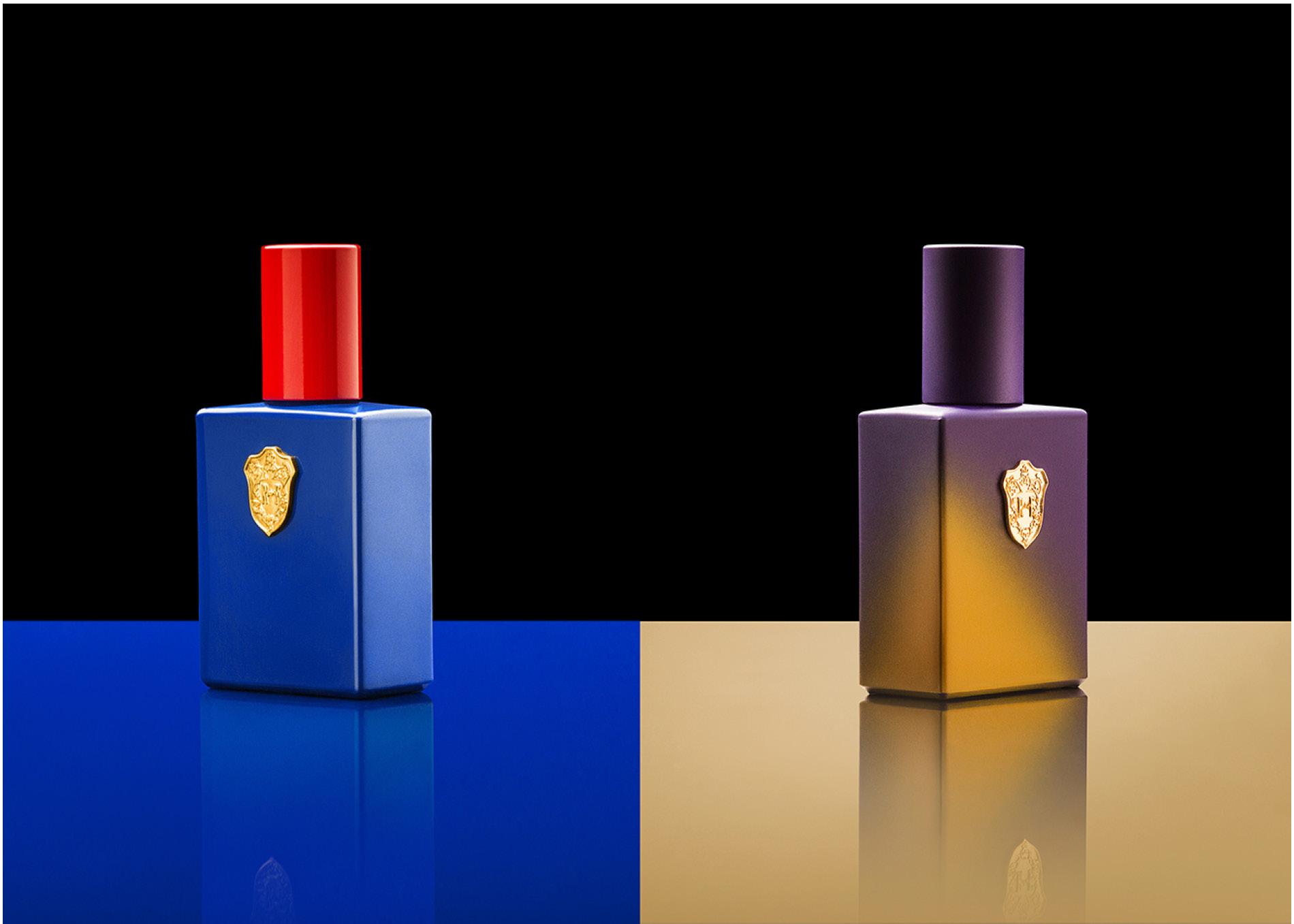 Still life of Perfume bottles shot by DTE Studio
