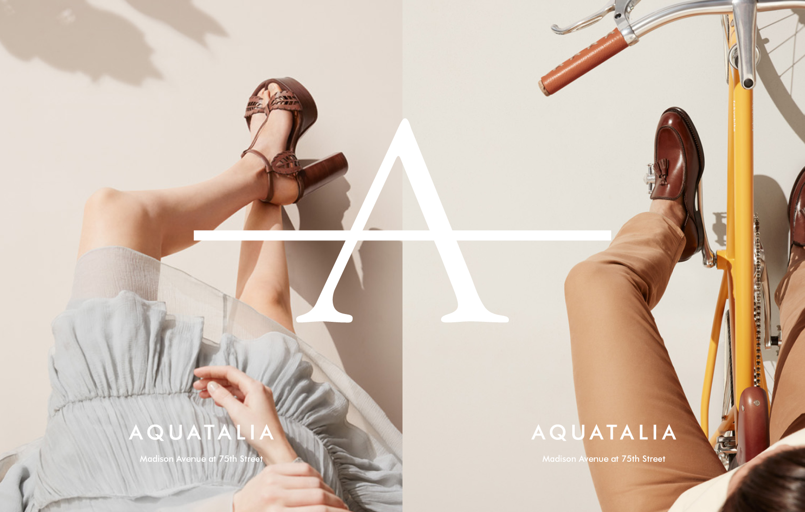 DTE Studio created and lead the creative direction for Aquatalia's print campaign.