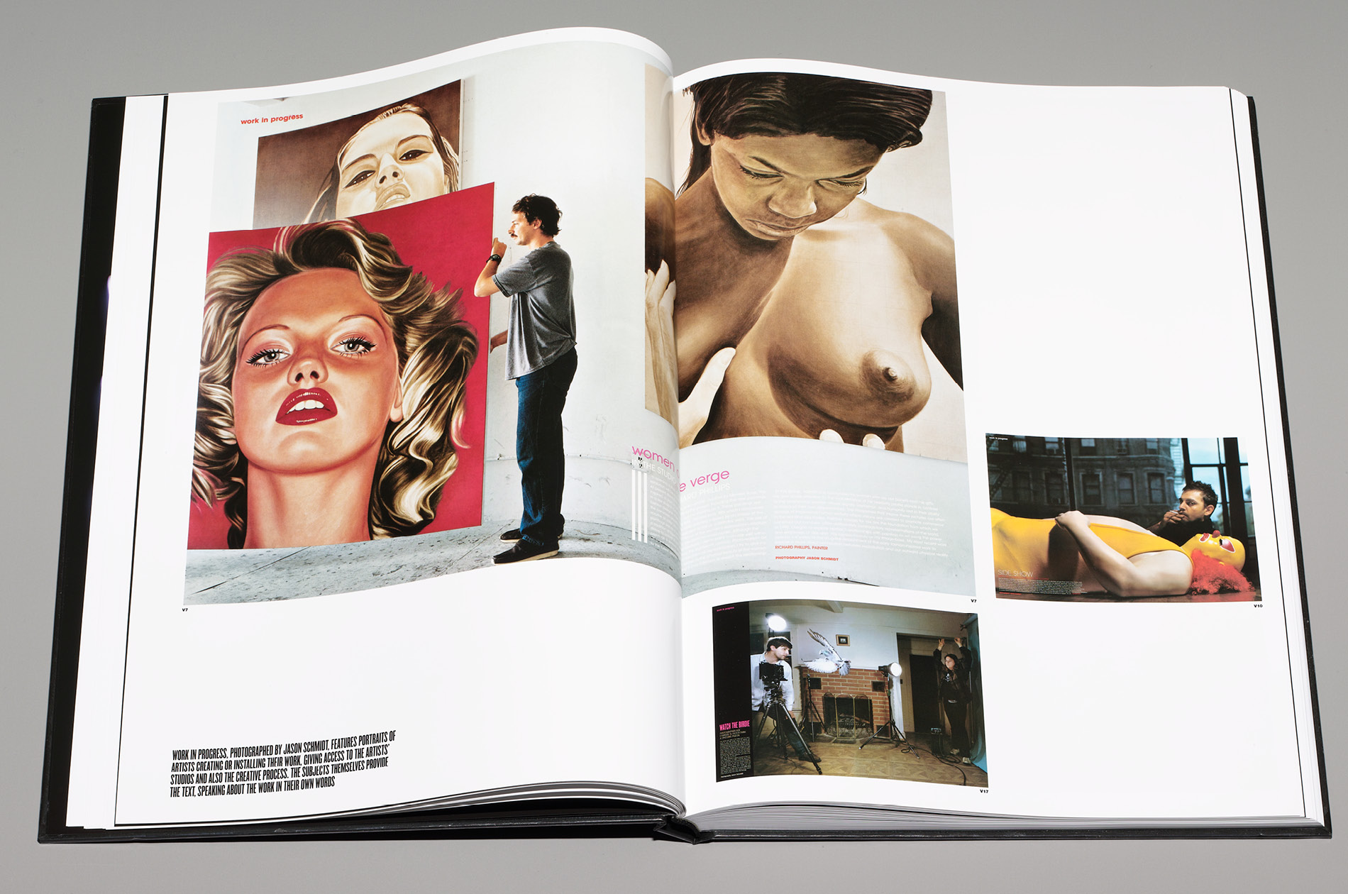 Page layout of Best of V for V Magazine designed by DTE