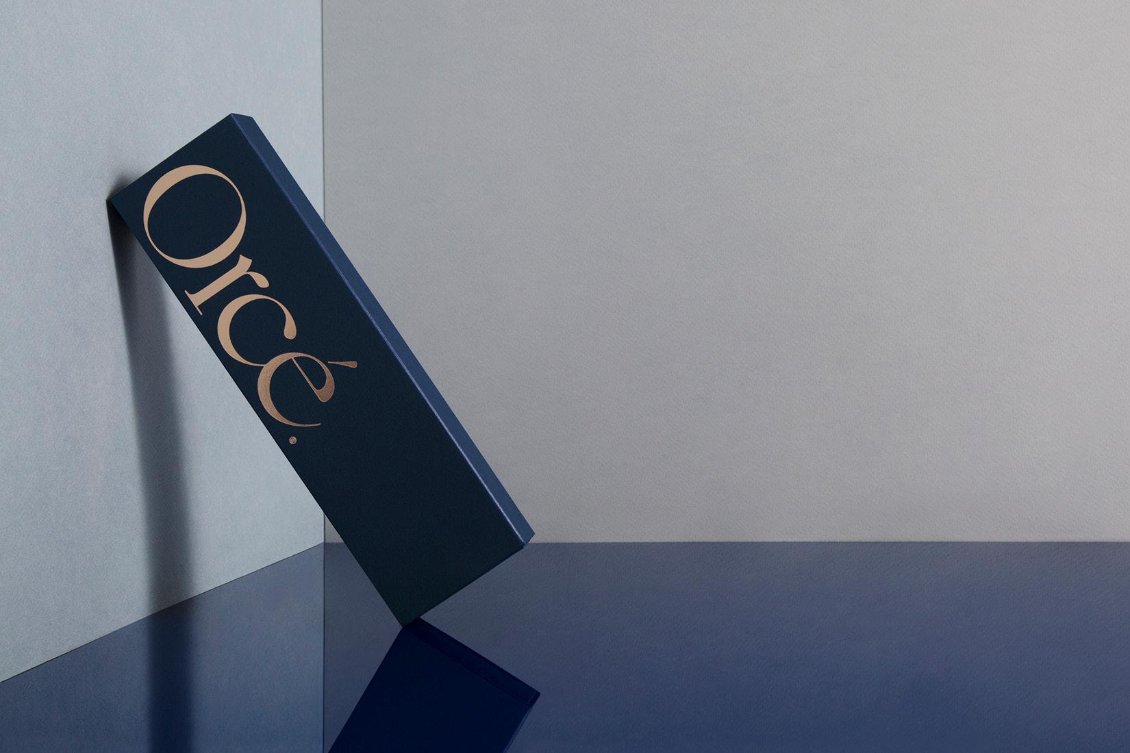 Orce luxury packaging.