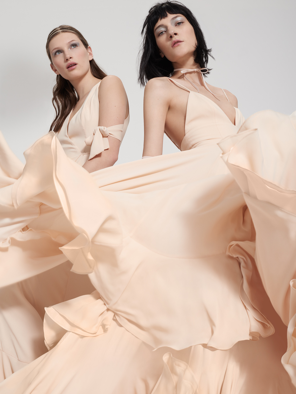 Fame and Partners bride campaign photography with creative direction by DTE Studio