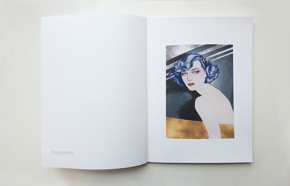 Cary Kwok's works on paper in artist monograph for exhibition, Obsession