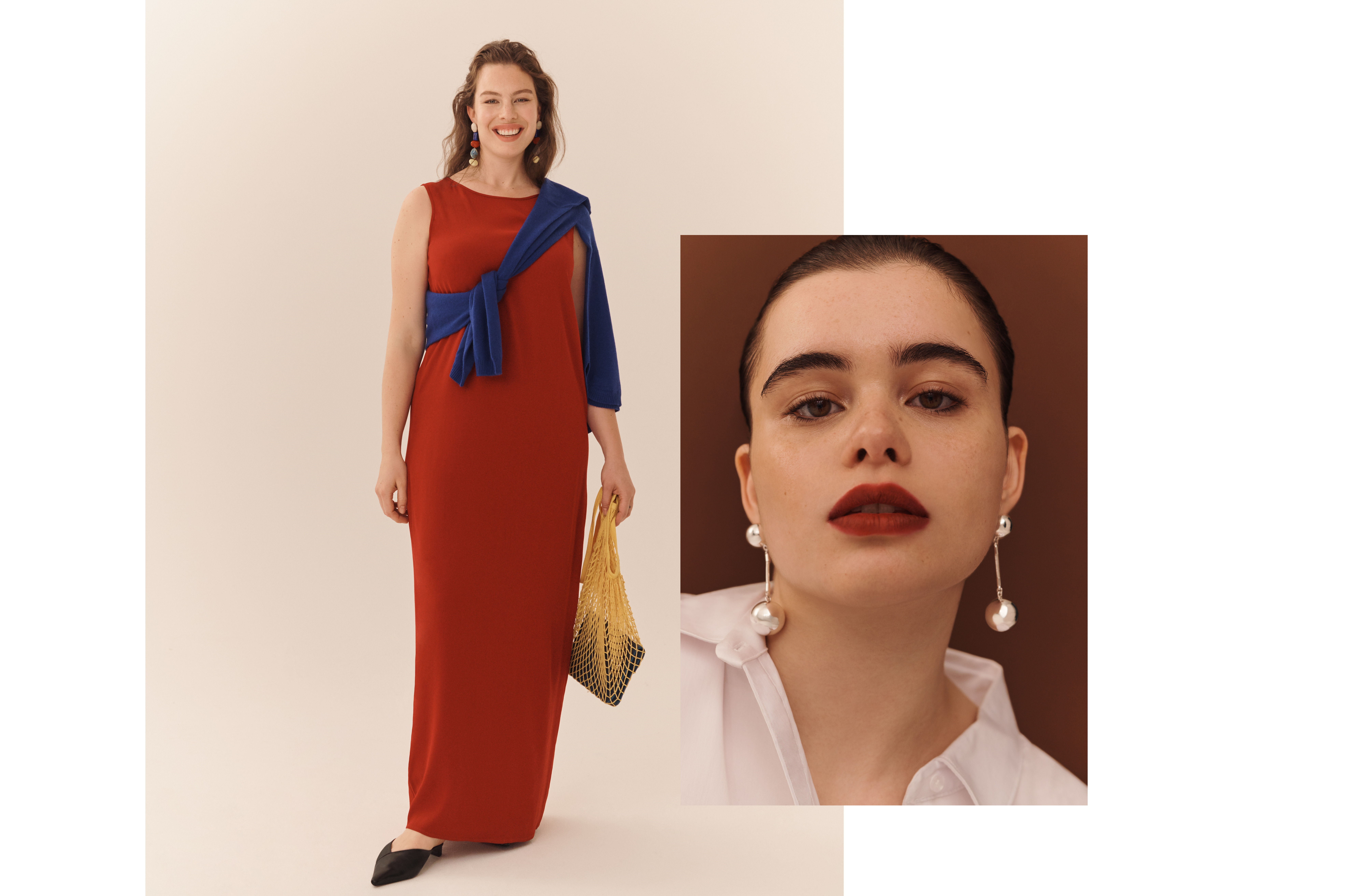 Models cast by DTE Studio for fashion and jewelry campaigns. Featuring Barbie Ferreira and Georgia Pratt.