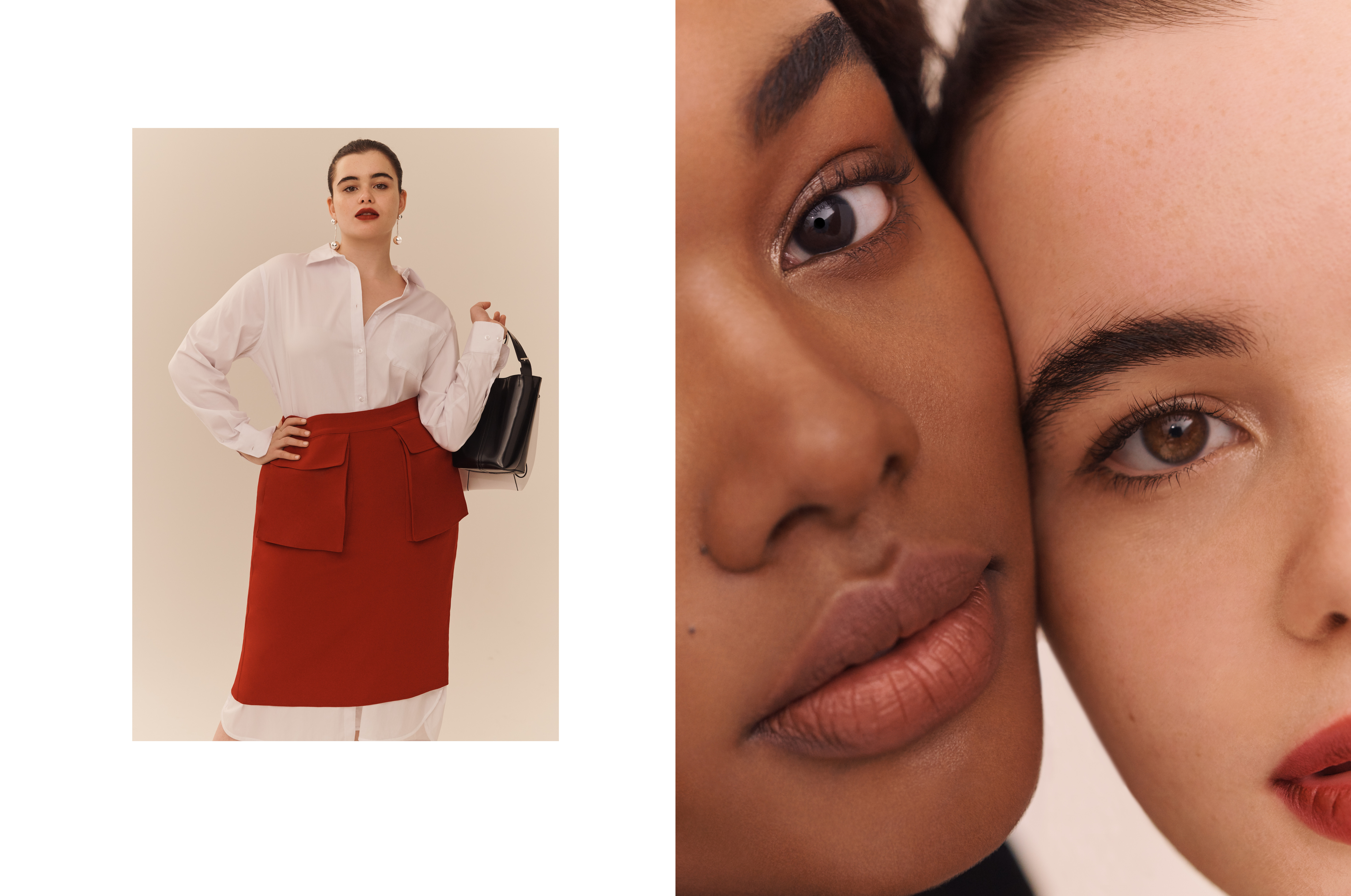 Models cast for fashion campaign by DTE creative agency.