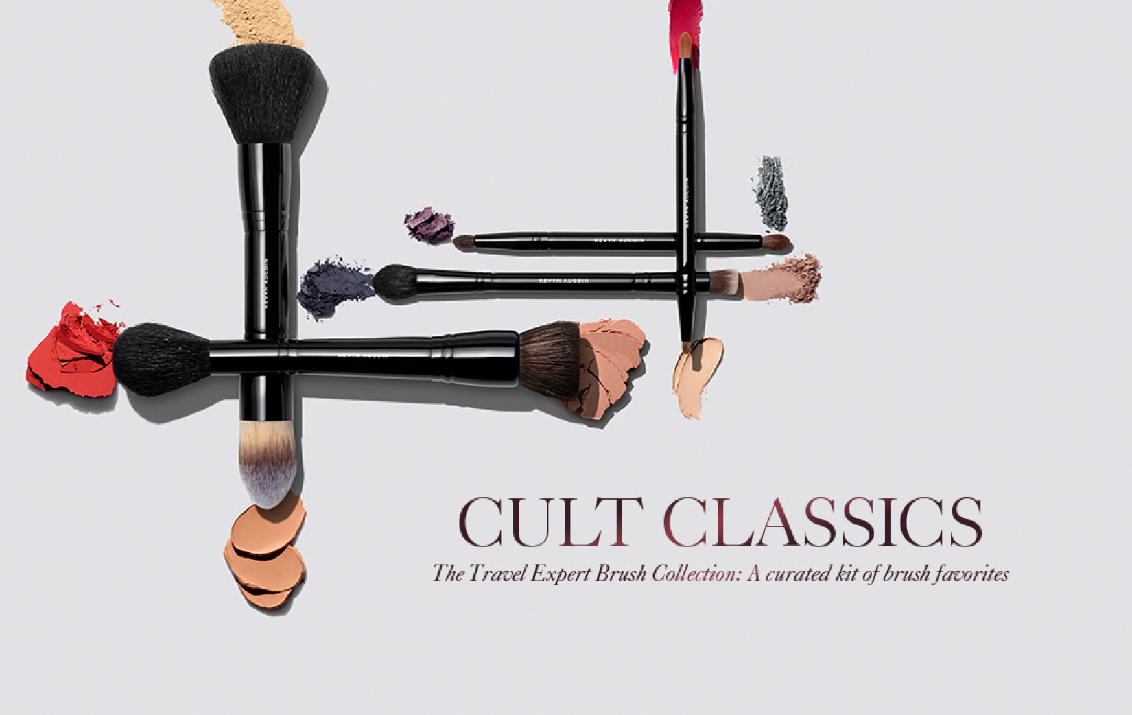 Kevyn Aucoin's expert brush collection called cult classics