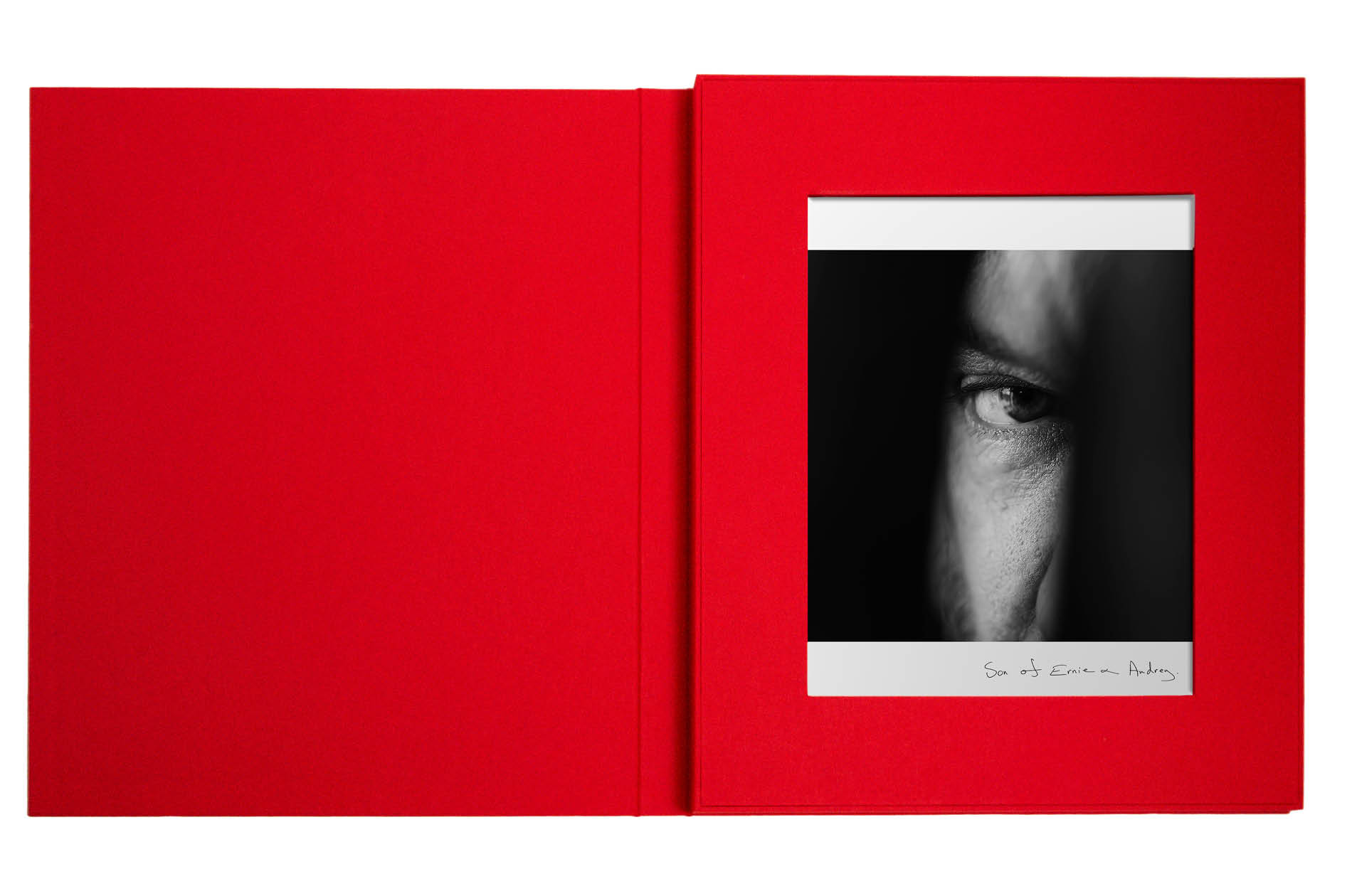 Anna Gabriel's limited edition box set for her upcoming Eye-D book release designed by DTE