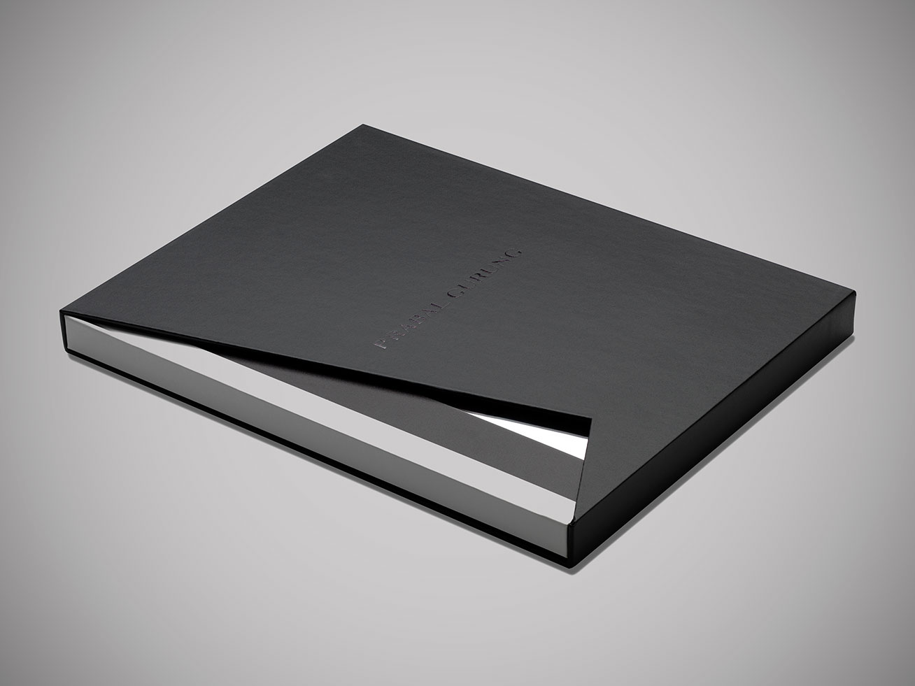 Branding and design for Prabal Gurung Brand book that was created by DTE Studio.